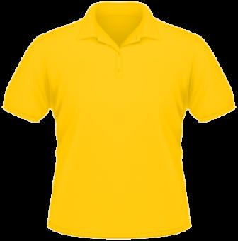 Arbeitspoloshirt gelb | M
