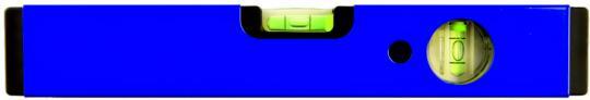 LAG Wasserwaage 1-seitig bedruckt Wasserwaage marineblau