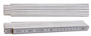Qualitäts-Zollstock 2m, 2-seitig bedruckt
