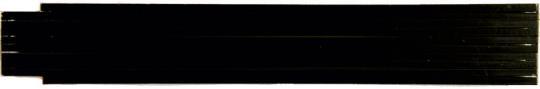 Zollstock farbig 2m, 1-seitig bedruckt schwarz